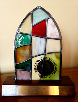 Wilbur Award (stained glass trophy)
