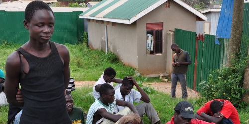 Ugandan youth shares his testimony