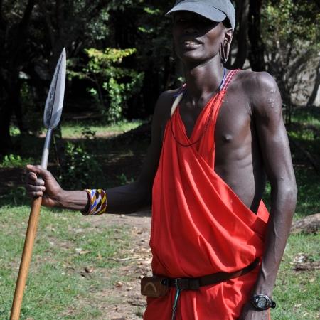 Mosquite, Maasai Guide