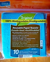 The Original 100% Biodegradable Reusable Paper Towels